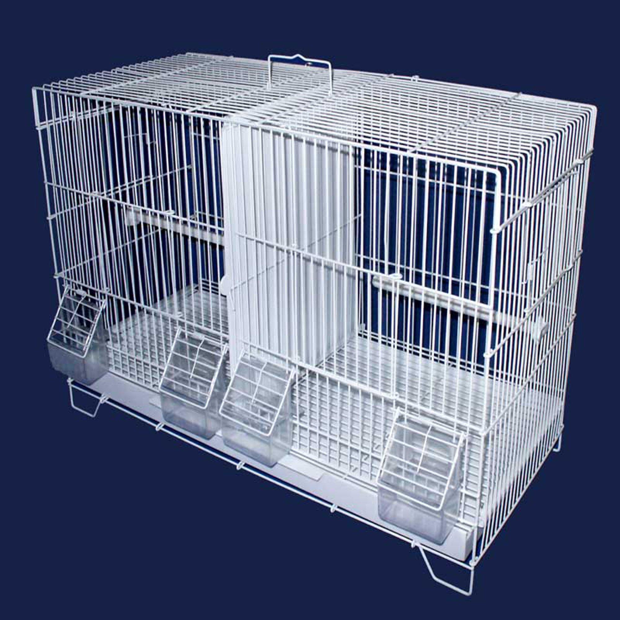 Yml Large White Breeding Bird Cage Petco