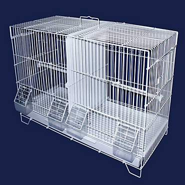 YML Large White Breeding Bird Cage