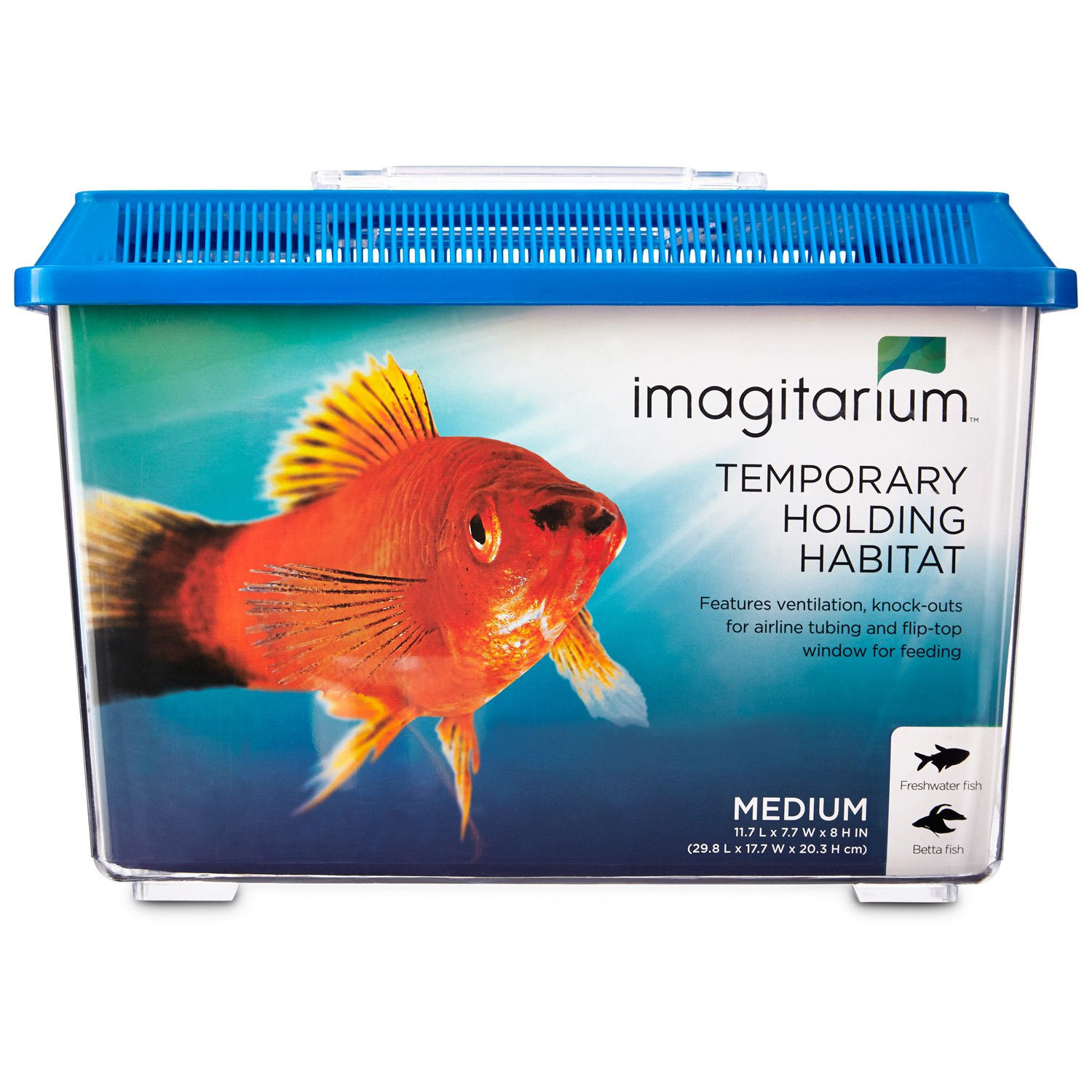 Imagitarium pet keeper for aquarium fish medium petco for Betta fish tanks petco