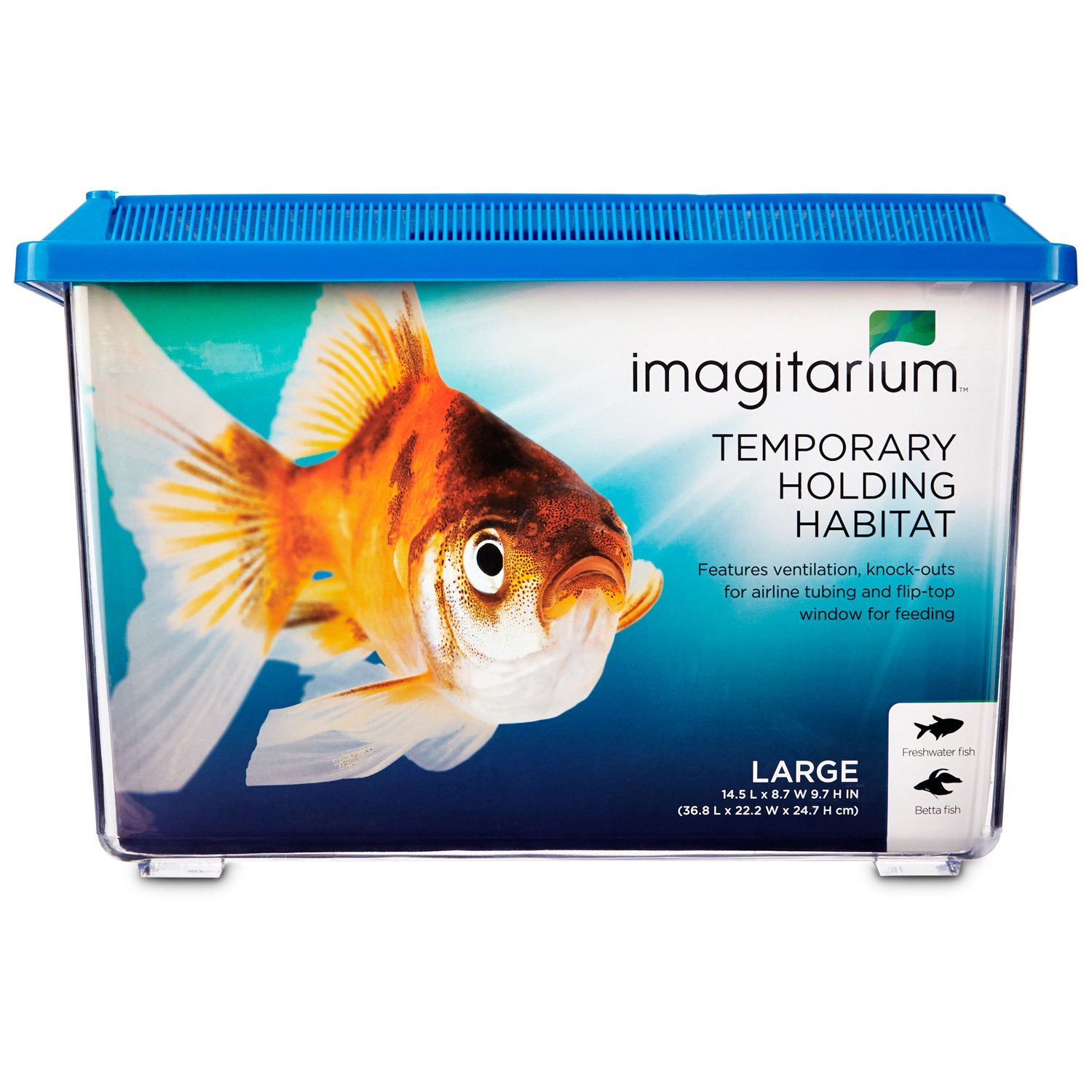 Imagitarium pet keeper for aquarium fish large petco for Fish and pet store
