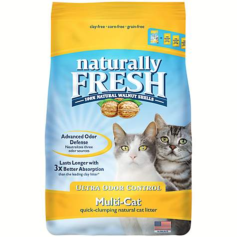 Blue Buffalo Blue Naturally Fresh Ultra Odor Control Multi-Cat Formula Cat Litter