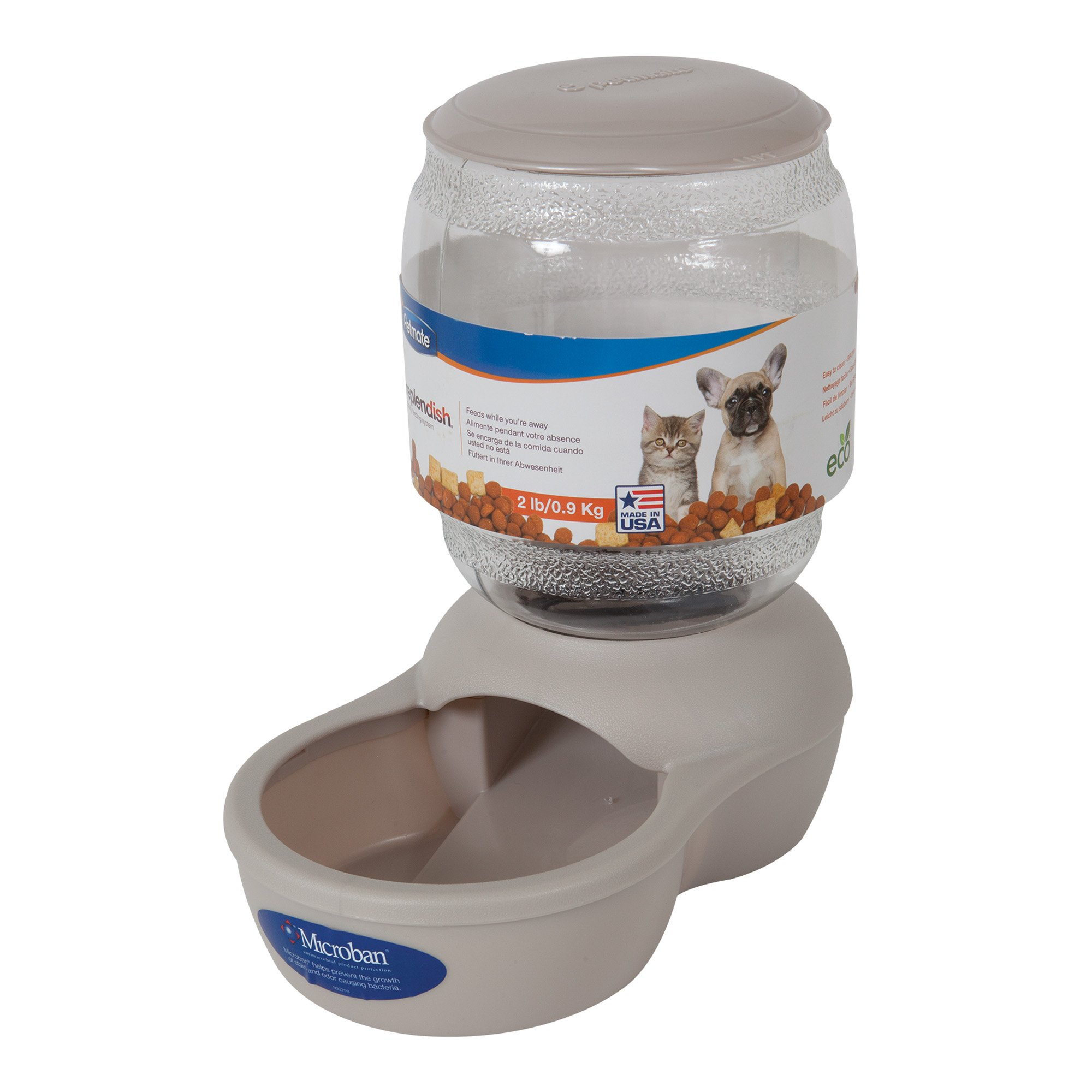 programmable drinking pet feeder fountains srz petsmojo