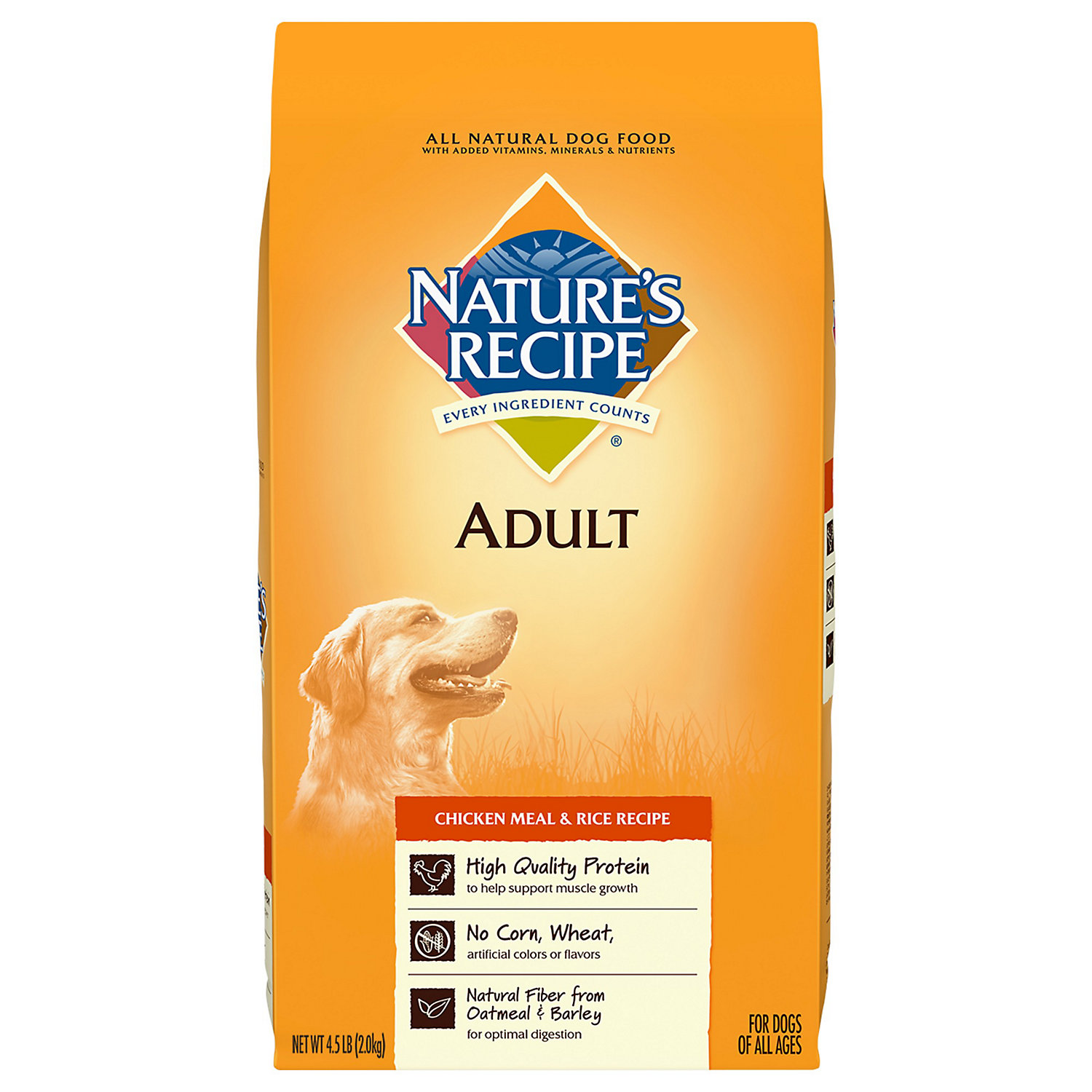 Natures Recipe Dog Food Adult