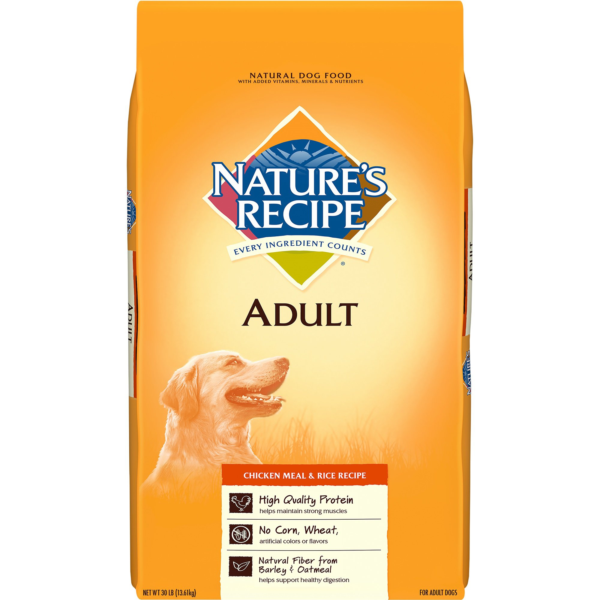 Natural Chicken Dog Food