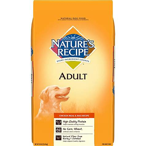 Natures recipe chicken meal rice adult dog food petco natures recipe chicken meal rice adult dog food forumfinder Image collections
