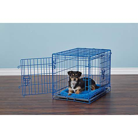 You & Me 2-Door Training Crate, Blue