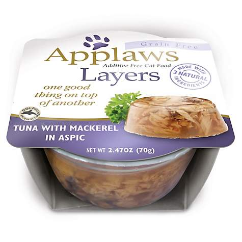 Applaws Tuna with Mackerel Layers Grain Free Cat Food