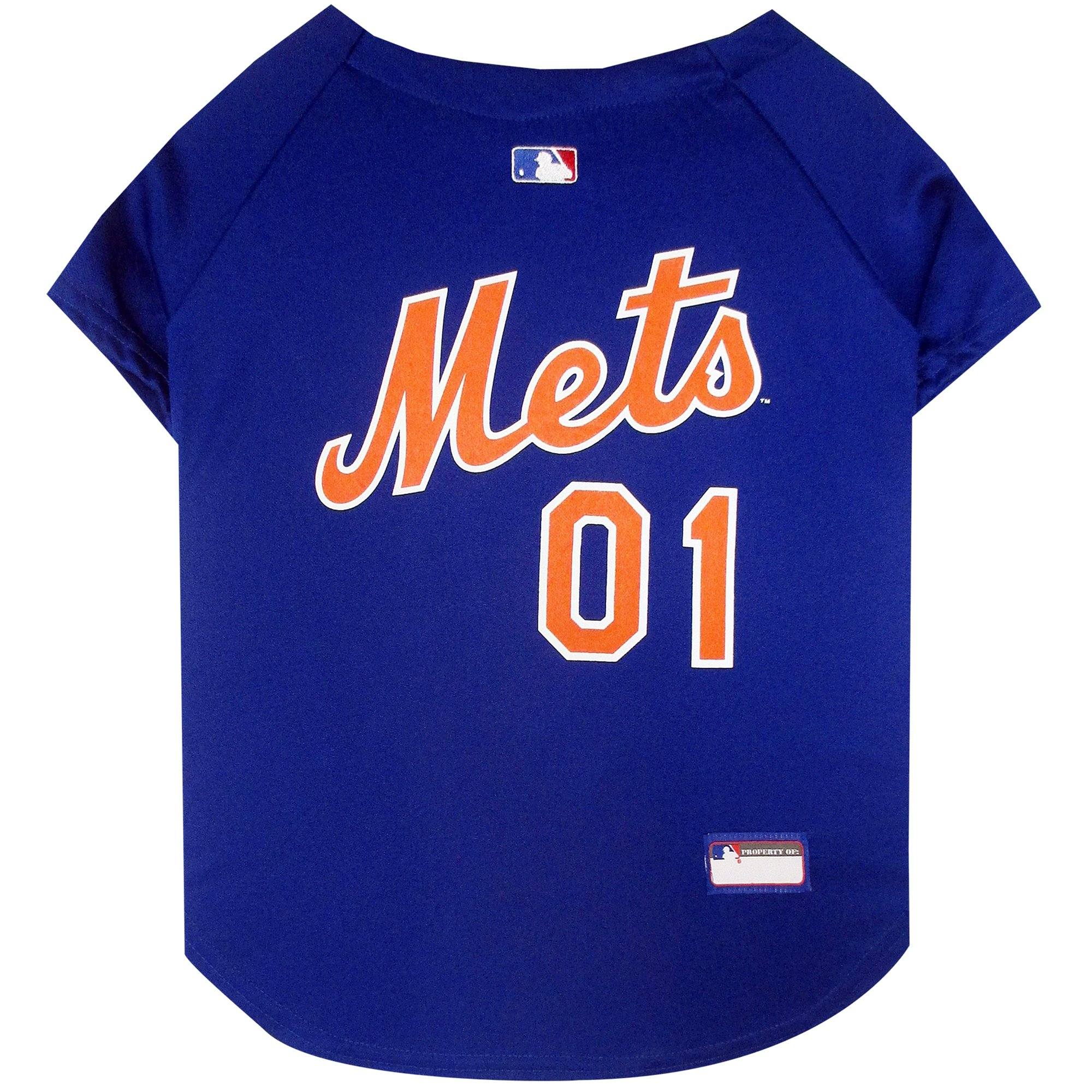 huge selection of f7f8a 86de8 Pets First New York Mets Jersey, X-Small | Petco