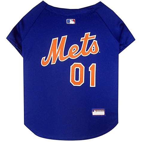 online store 07f5f db091 Pets First New York Mets Jersey, X-Small