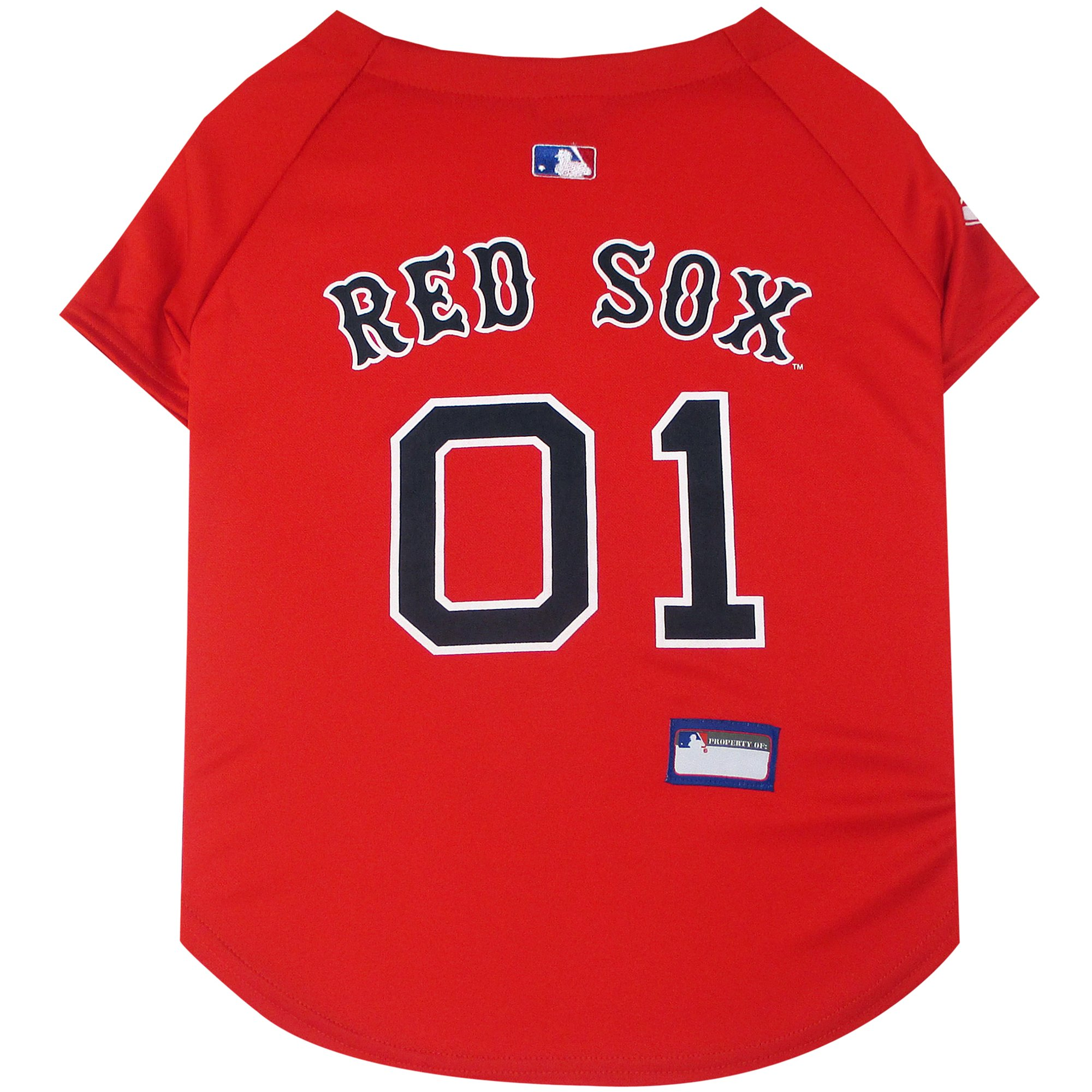 detailed look 5b602 aa202 Pets First Boston Red Sox Jersey, X-Small | Petco