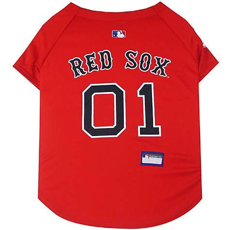 superior quality 9bc14 ec357 Pets First Boston Red Sox Jersey, X-Small