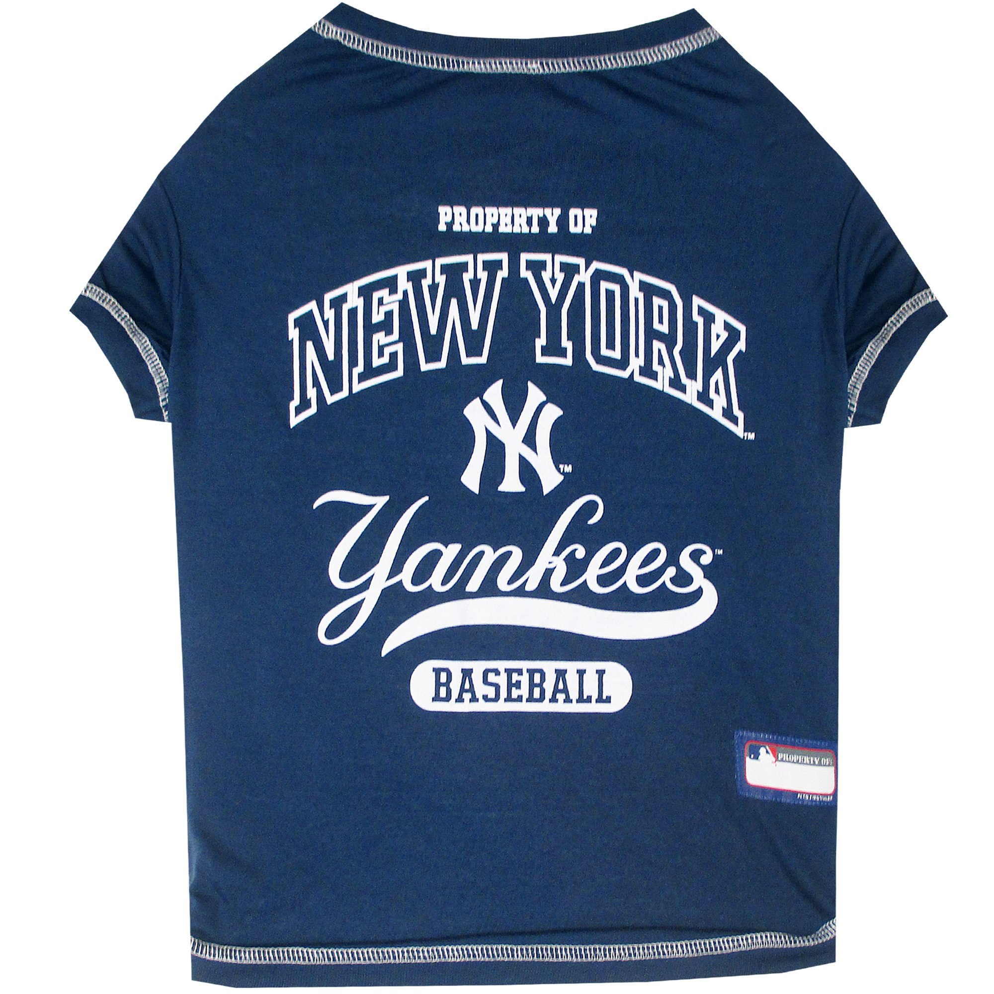 buy popular b578a 1d10b Pets First New York Yankees T-Shirt, X-Small | Petco