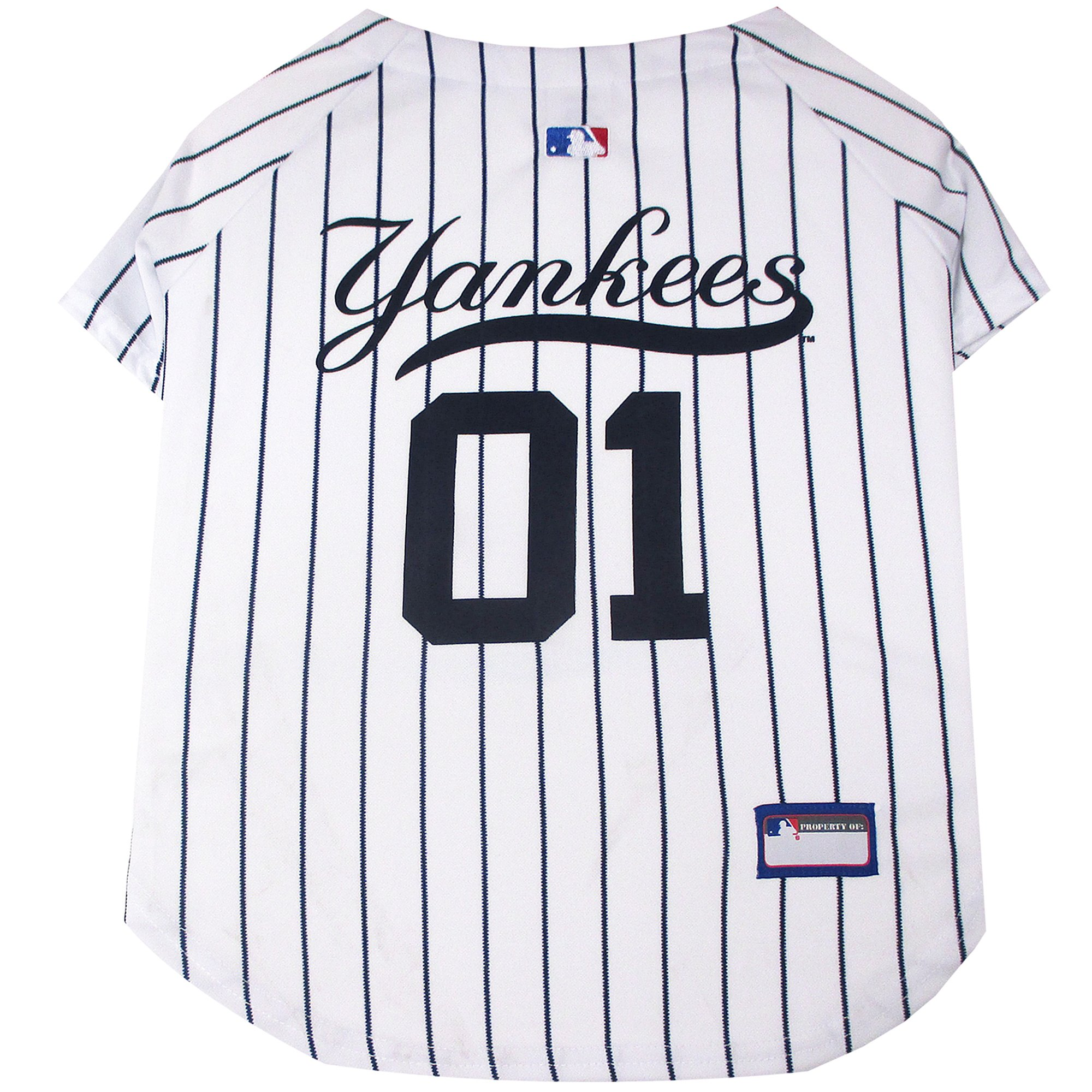 buy popular 5444b ec6be Pets First New York Yankees Jersey, X-Small | Petco