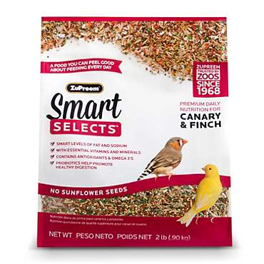 ZuPreem Smart Selects Blend Canary & Finch, 2lbs.