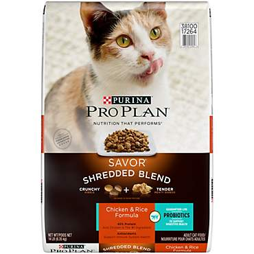 Pro Plan Savor Shredded Blend Chicken & Rice Adult Cat Food