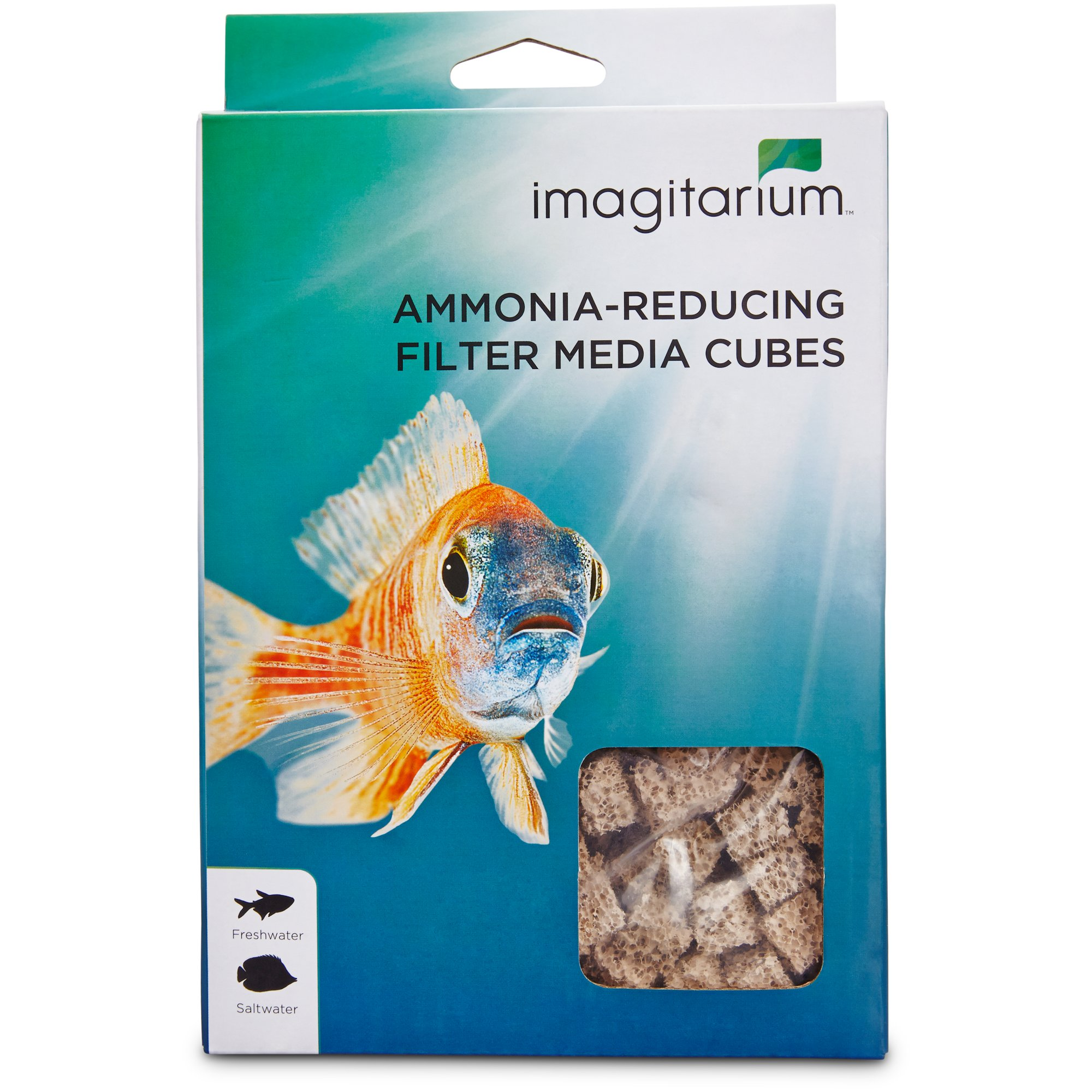 Imagitarium ammonia filter media cubes petco for Petco fish tank filters