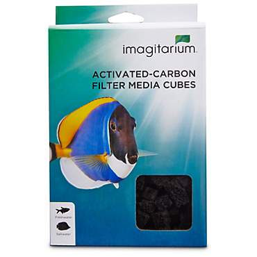 Imagitarium Activated Carbon Infused Filter Media Cubes