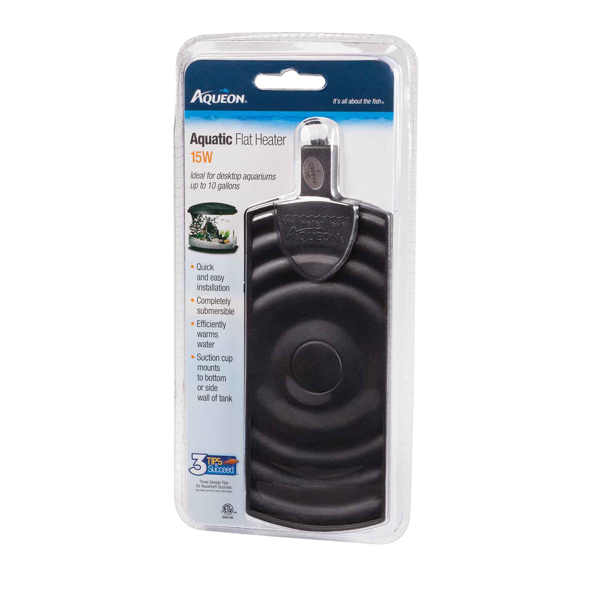Aqueon aquatic flat heater 15w petco for Fish tank heater petco
