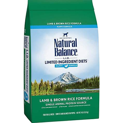 Lowest Price Natural Balance Lid Lamb And Rice Dog Food