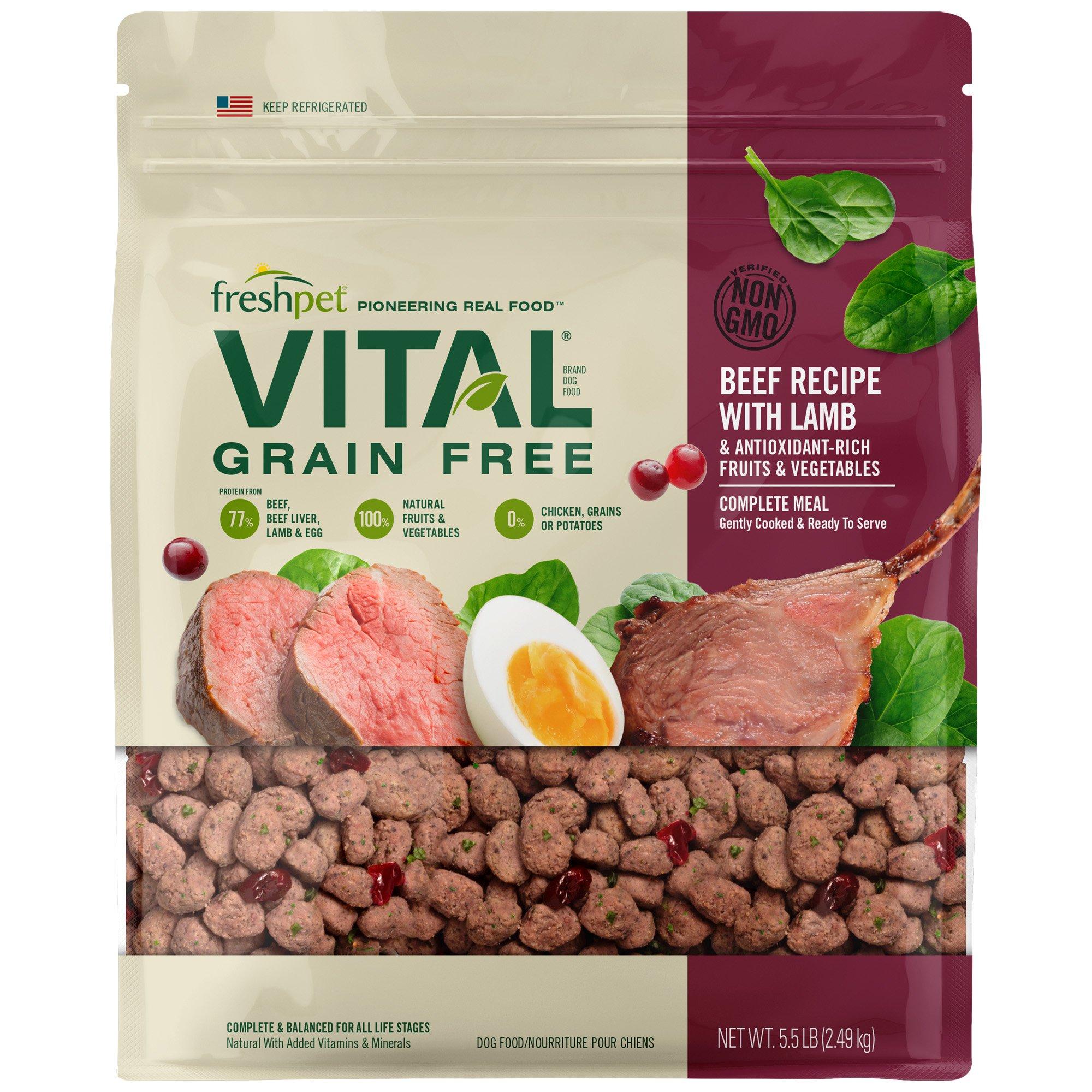 Freshpet Vital Dog Food