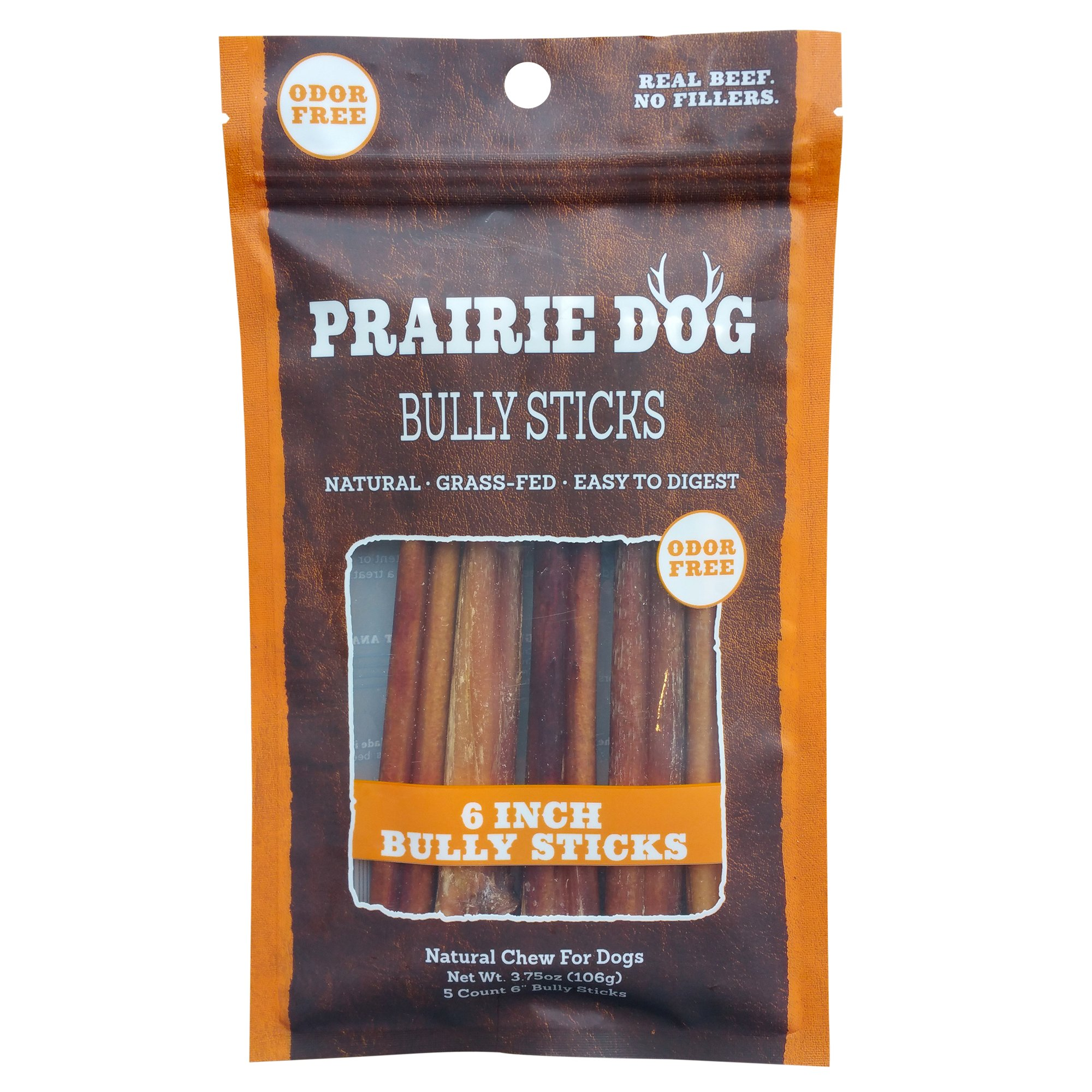 prairie dog 6 bully stick petco. Black Bedroom Furniture Sets. Home Design Ideas