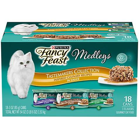 Purina Fancy Feast Medleys Tastemakers Collection Adult Wet Cat Food Variety Pack