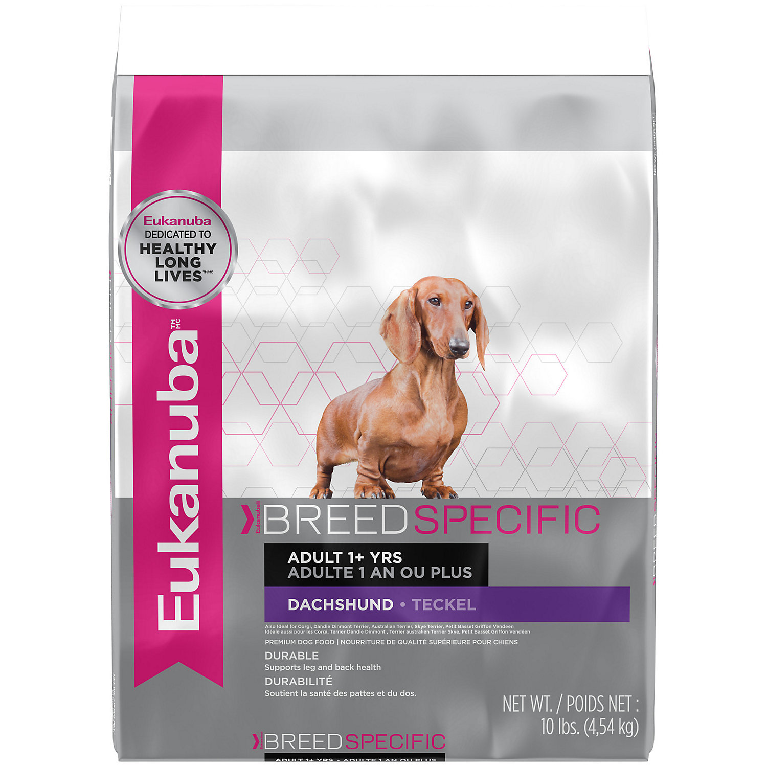 Eukanuba Dachshund Adult Dog Food, 10 Lbs.