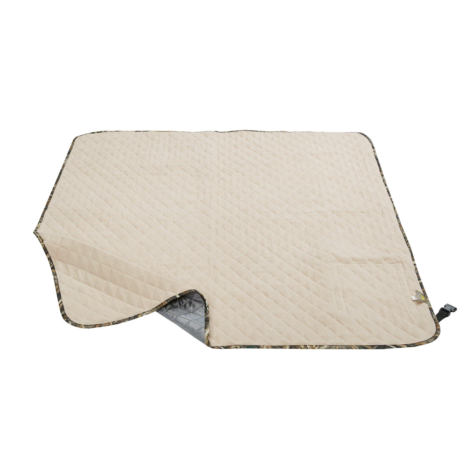 JLA Reversible Fleece Travel Blanket