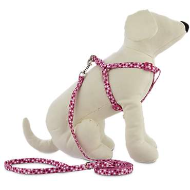 Bond & Co. Pink Harness Lead Set