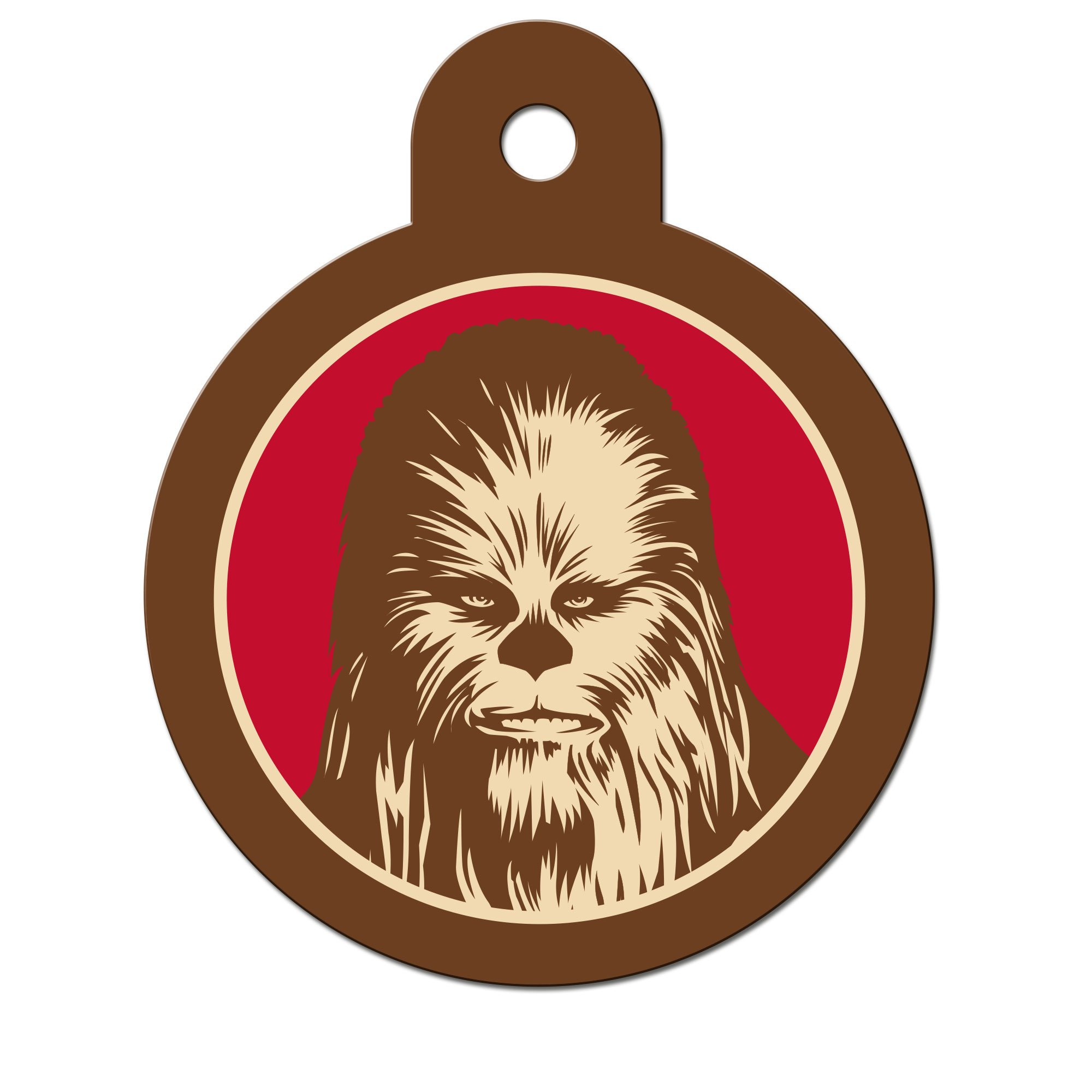 STAR WARS Chewbacca Engravable Pet I.D. Tag, Large | Petco