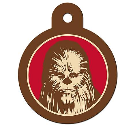 STAR WARS Chewbacca Engravable Pet I.D. Tag, Large