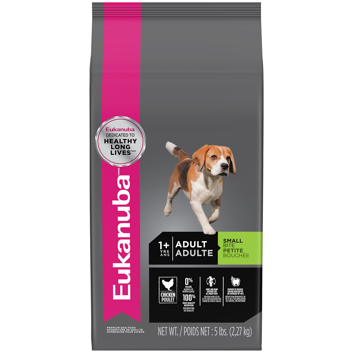 Eukanuba Small Bite Adult Dog Food, 5 Lbs.