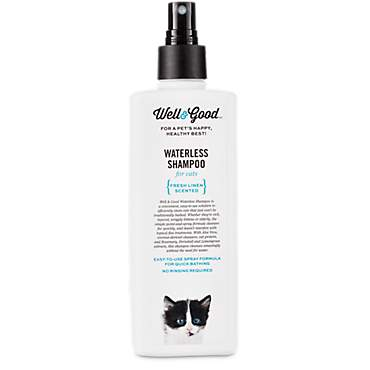 Well & Good Waterless Cat Shampoo