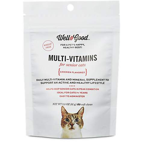 Well & Good Multi Vitamin for Senior Cats
