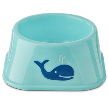 You & Me Plastic Whale Print Bowl