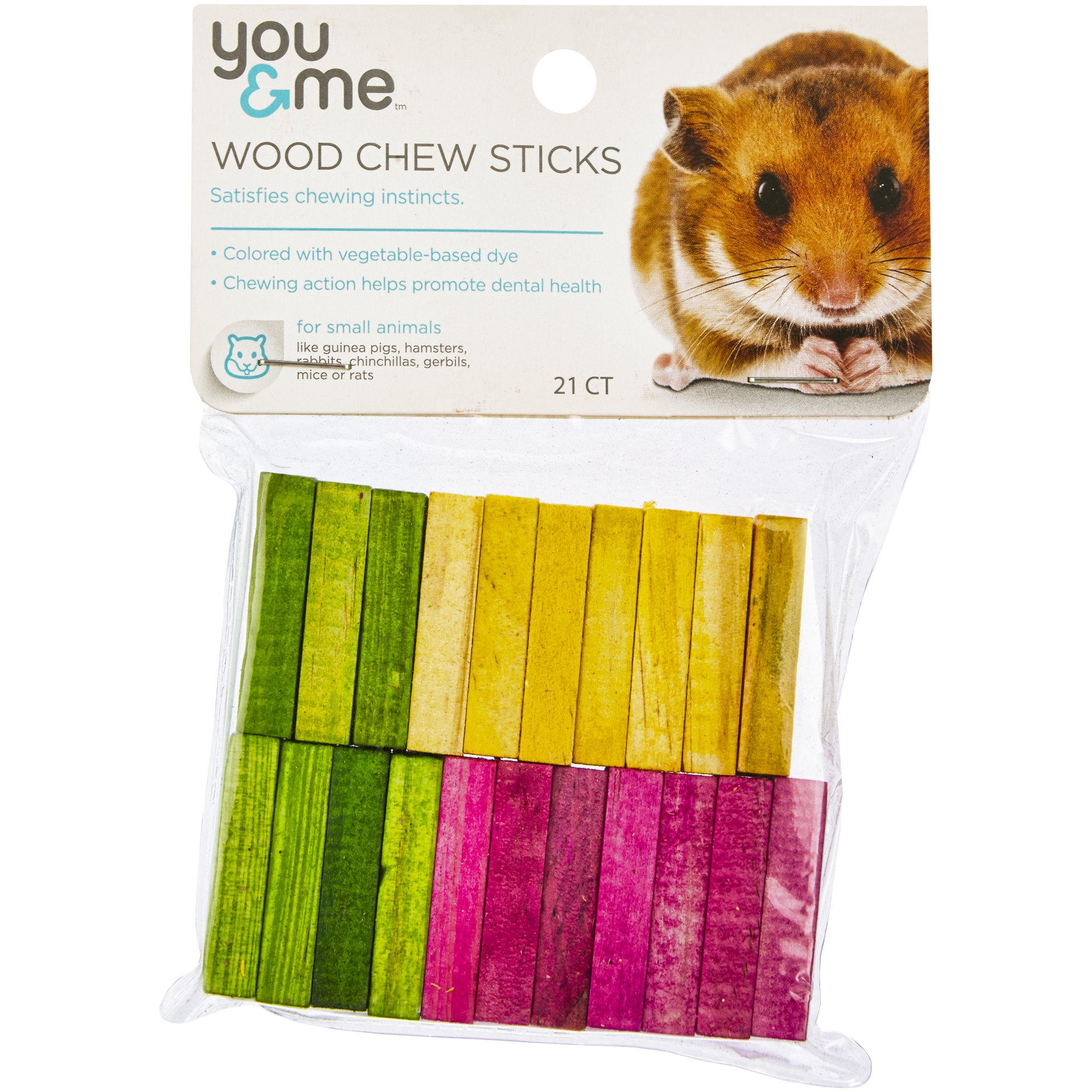 You & Me Wood Chew Sticks for Small Animals   Petco