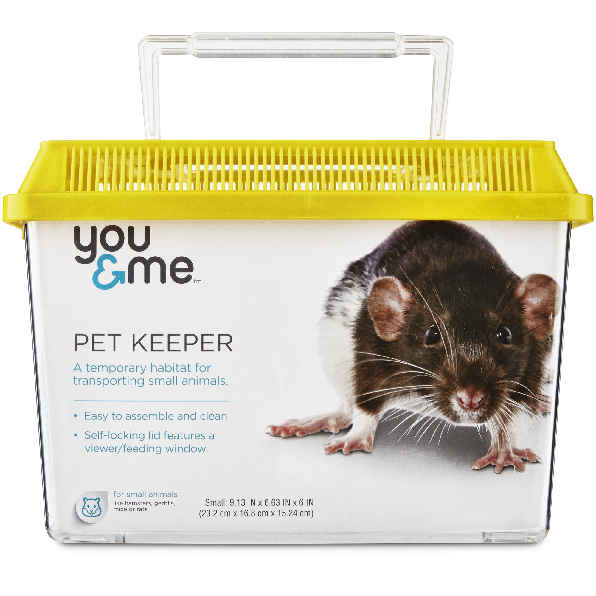 You Amp Me Square Pet Keeper Small Petco