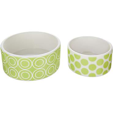 You & Me Ceramic Bowl, 2 Pack