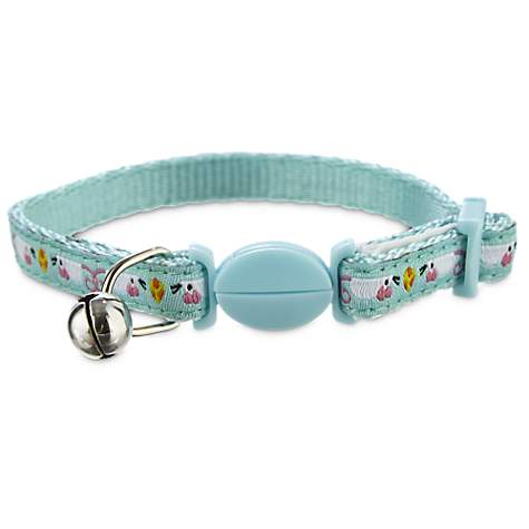 Bond & Co Blue Mouse Print Kitten Collar