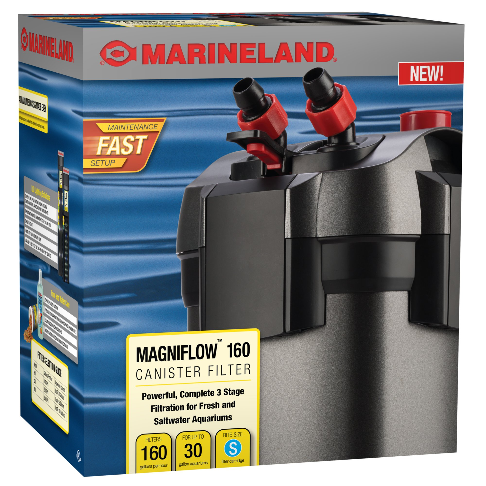 Marineland magniflow 160 canister filter petco for Petco fish tank filters