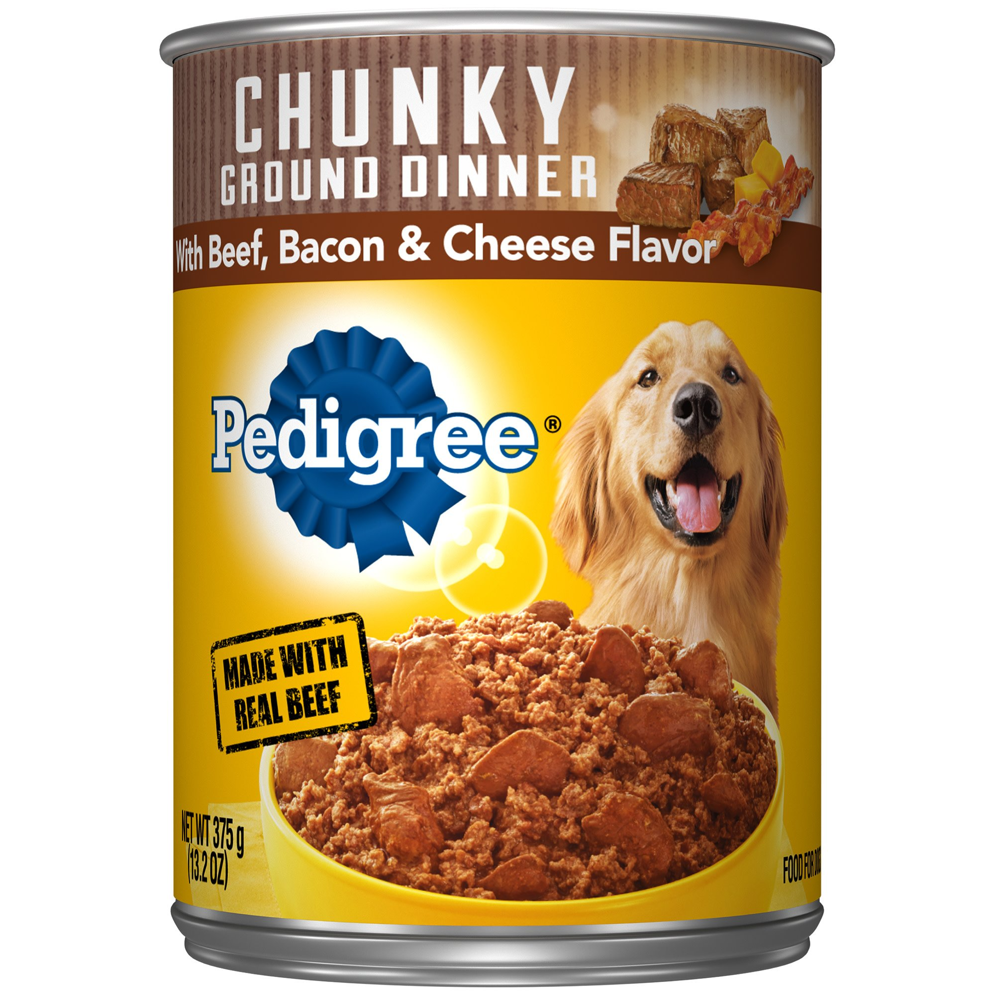 Pedigree Traditional Ground Dinner with Chunky Beef
