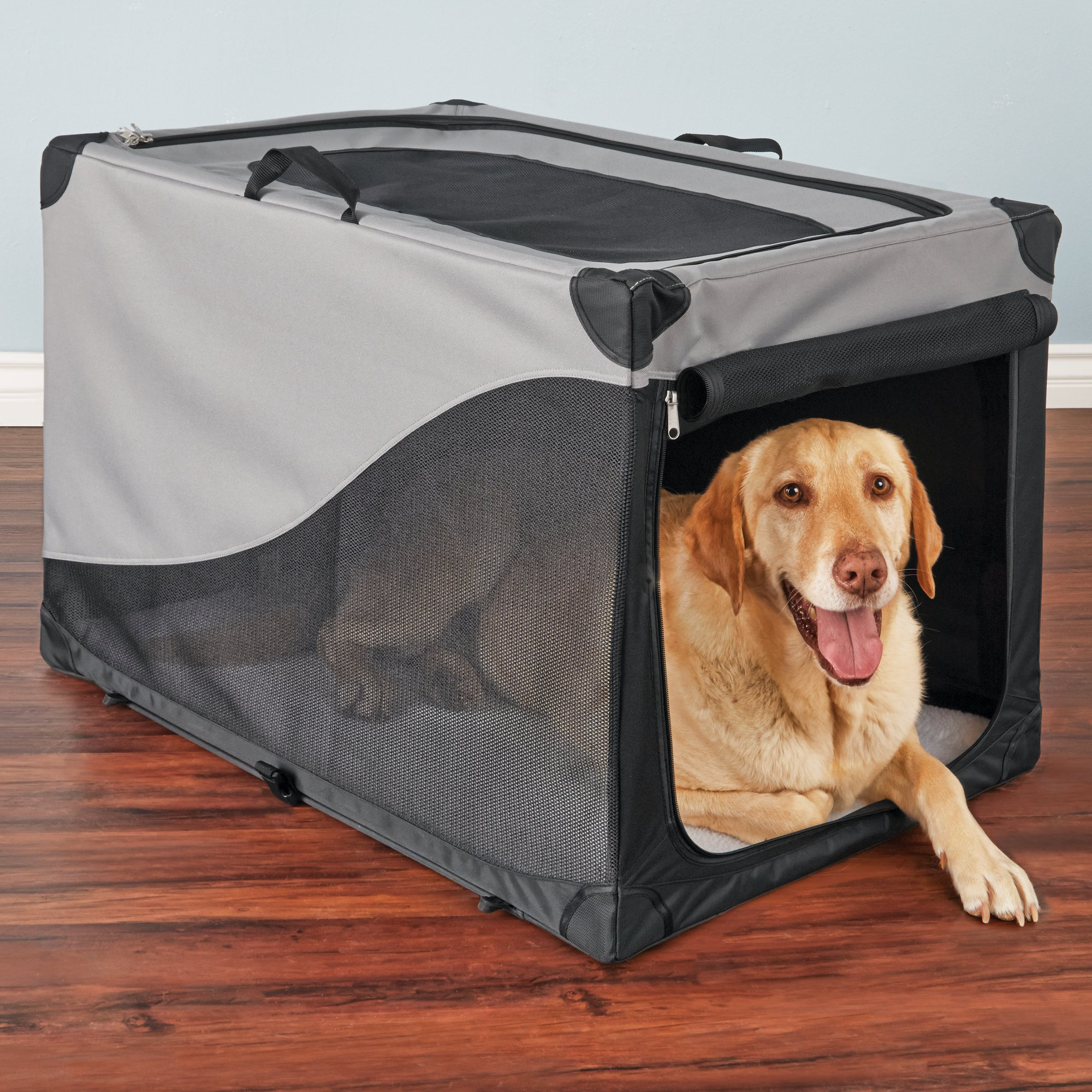 You Amp Me Portable Canvas Crate Petco