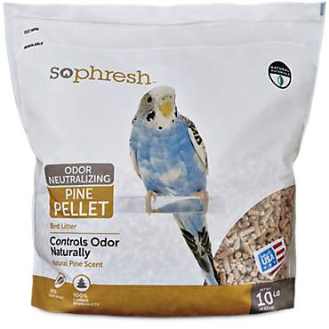 So Phresh 10lb Pine Pellet Bird Litter