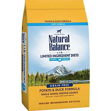 Natural Balance L.I.D. Limited Ingredient Diets Potato & Duck Puppy Formula Dry Dog Food
