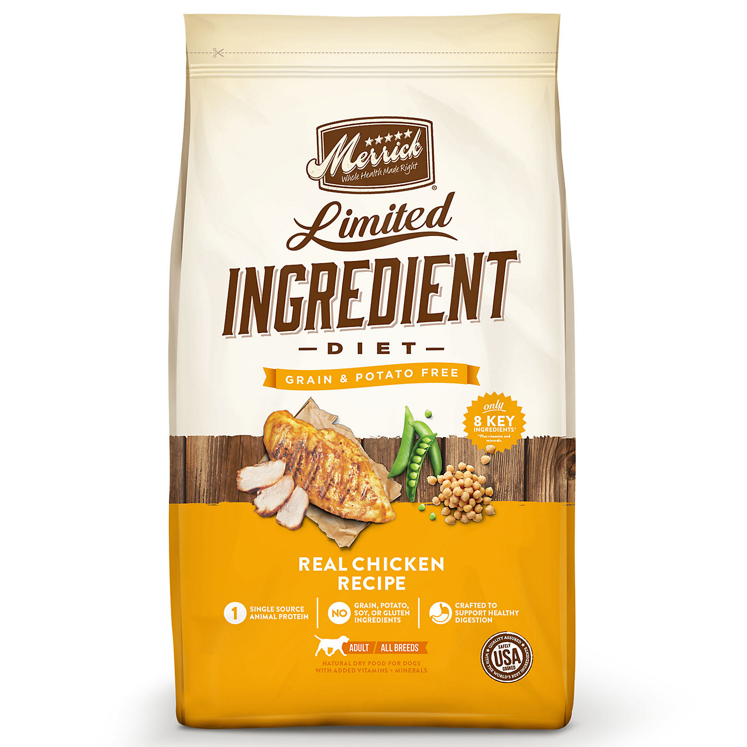 Merrick Limited Ingredient Diet Grain Free Real Chicken Dry Dog Food