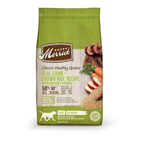 Merrick Classic Real Lamb Green Peas with Ancient Grains