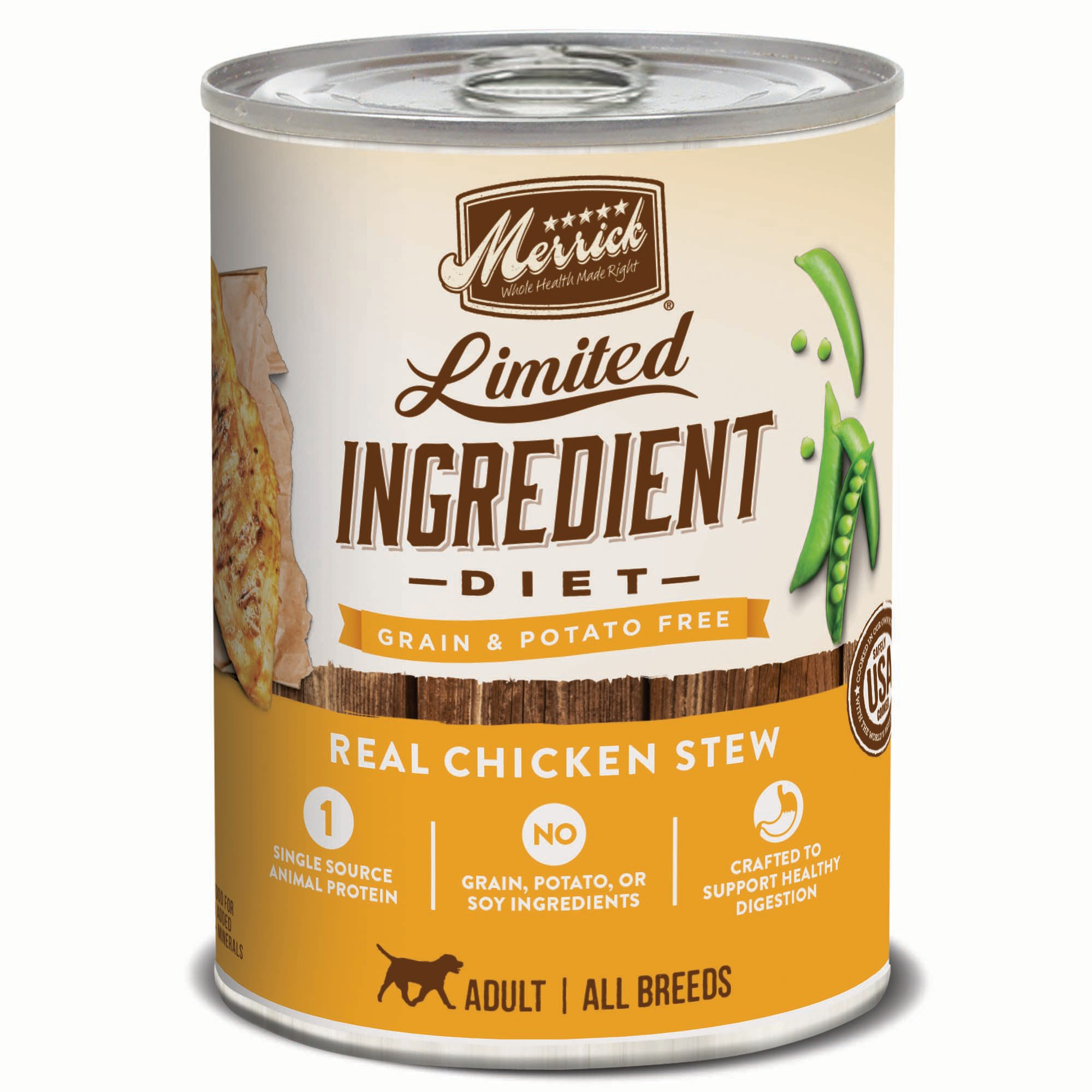 Limited Ingredient Dog Food Canned