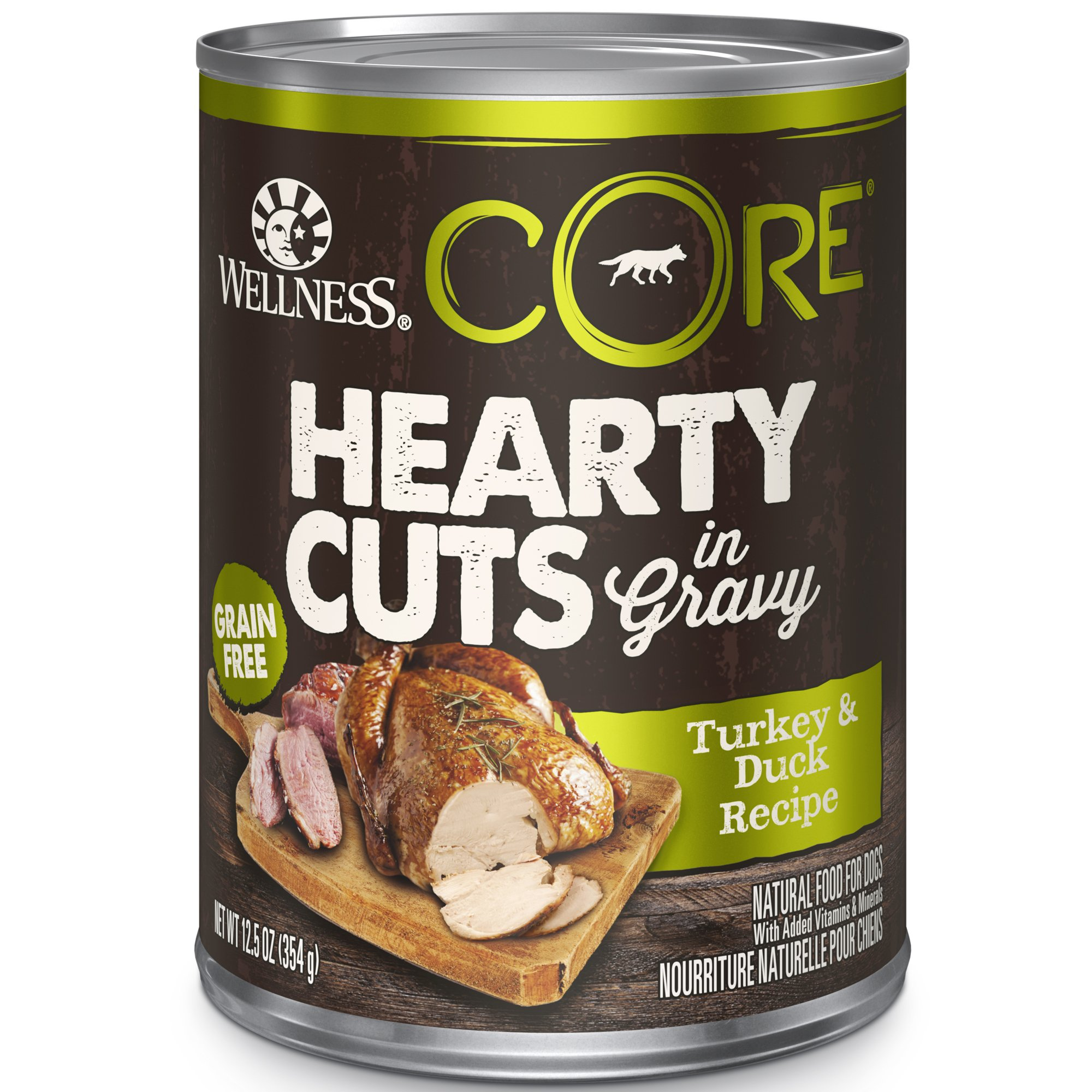 Wellness Core Natural Grain Free Turkey Amp Duck Hearty Cuts