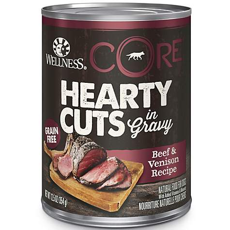 Wellness CORE Natural Grain Free Beef & Venison Hearty Cuts Dog Food