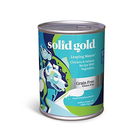 Solid Gold Leaping Waters Salmon Grain Free Canned Dog Food